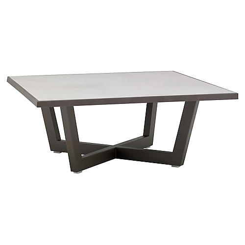 Terra Coffee Table, Sand Gray