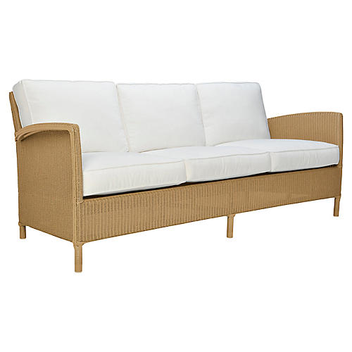 Deauville Sofa, Natural
