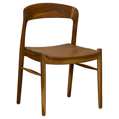 Ingrid Side Chair, Teak