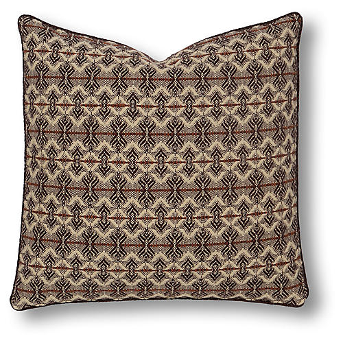 Canyon Clay Euro Sham, Natural/Brown