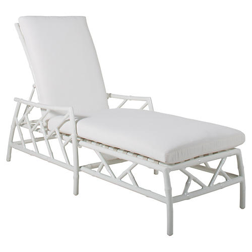 Kit Chaise, White