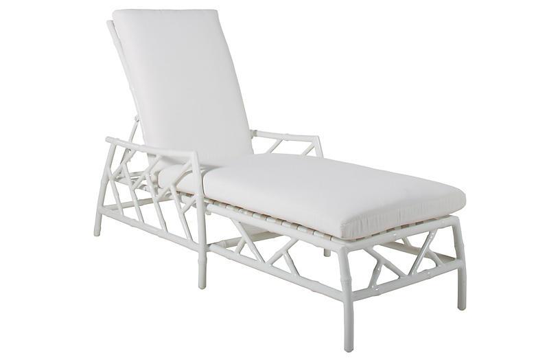 Kit Chaise, White