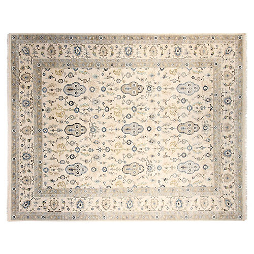 10'x14' Lincoln Rug, Ivory