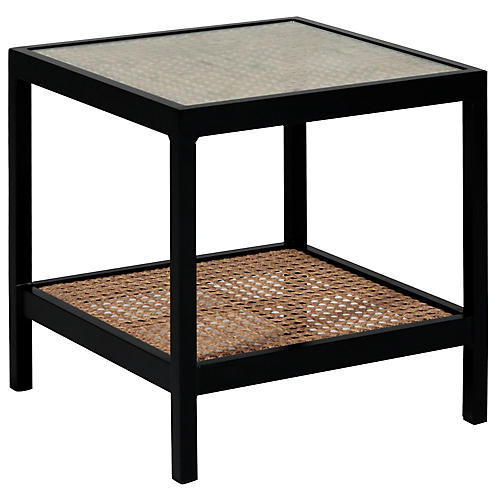 Newport Side Table, Black