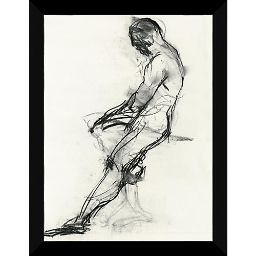 Black & White Figure