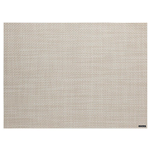 Basketweave Place Mat, Khaki