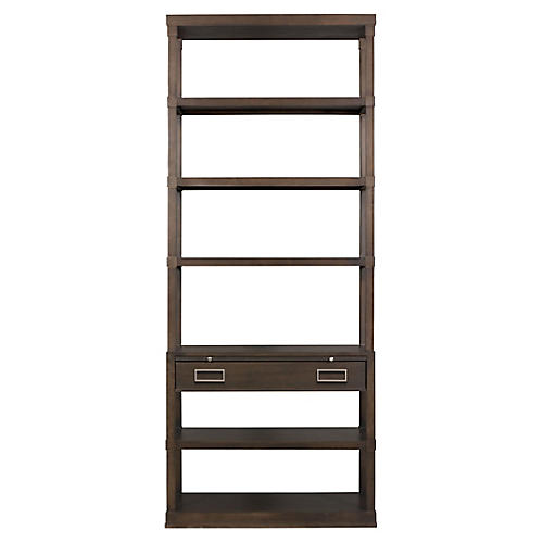 Stanwick Bookcase, Dark Brown