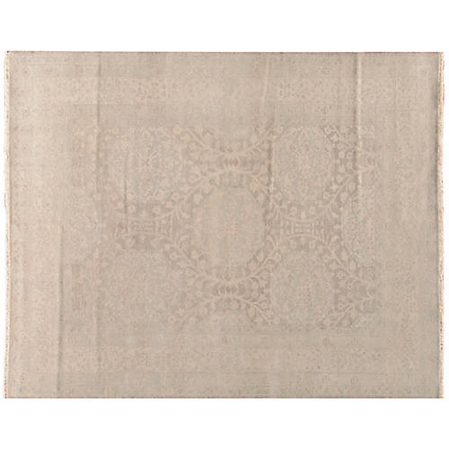 Topa Hand-Knotted Rug, Beige