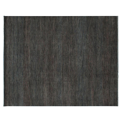 Dhola Hand-Knotted Rug, Brown