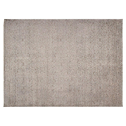 Kalol Hand-Knotted Rug, Brown
