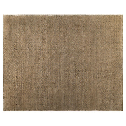 Varam Hand-Knotted Rug, Brown