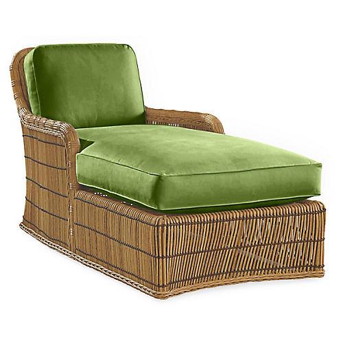 Rafter Chaise, Cilantro