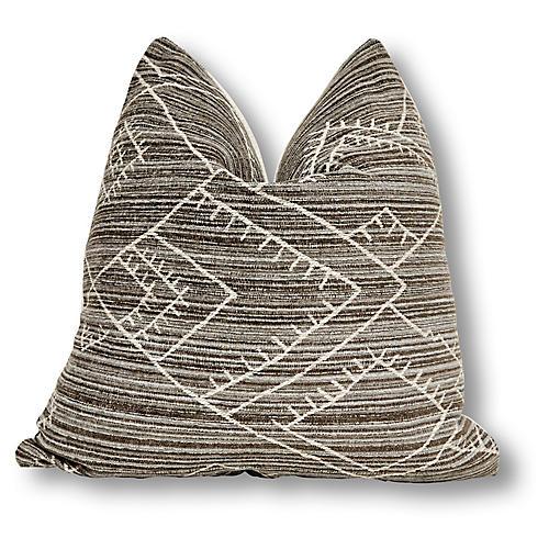 Habitas 24x24 Pillow, Kona Gray