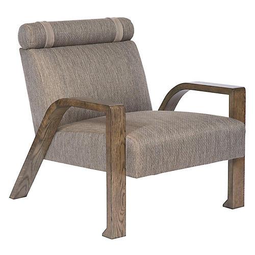 Colvin Accent Chair, Truffle