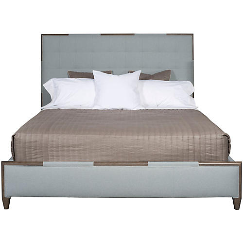 Chatfield Bed, Pale Blue