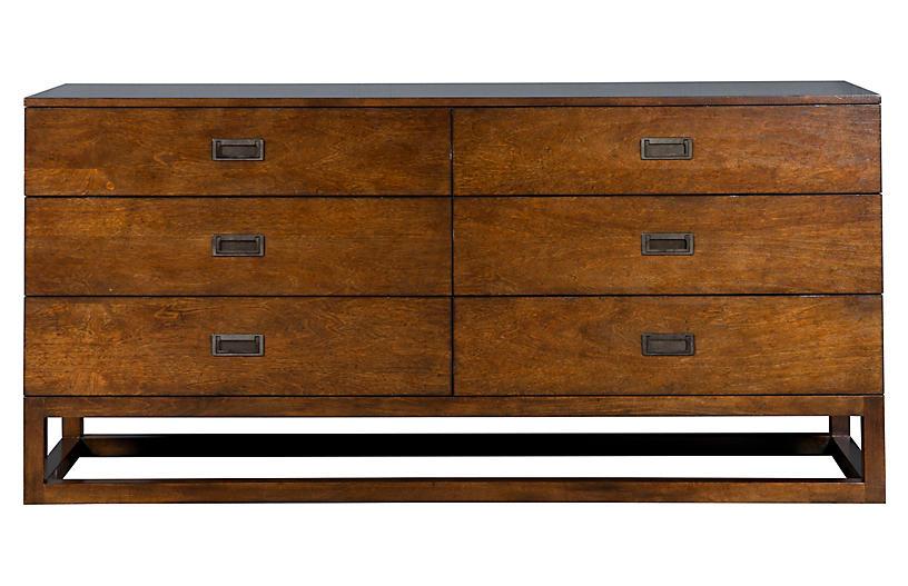 Omni Dresser, Walnut