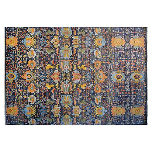 12'x15' Liam Rug, Blue