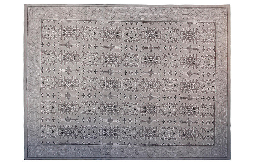 9'x12 Edisoni Rug, Gray