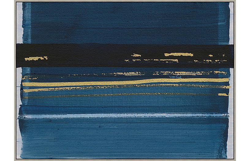 Thom Filicia, Denim Abstract IV