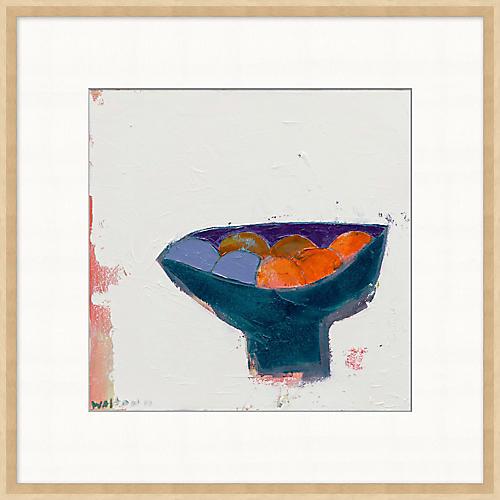 Folk Art Fruit Bowl II