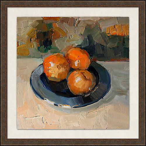 Oranges Fruit Bowl