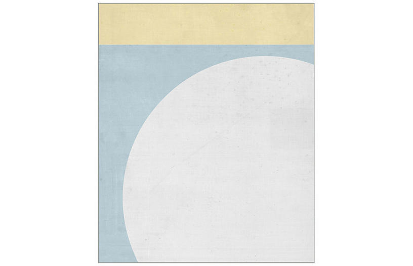 Lillian August, Pastel Geometric I