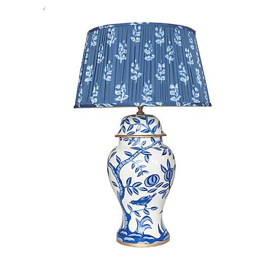 Cliveden Table Lamp, Blue