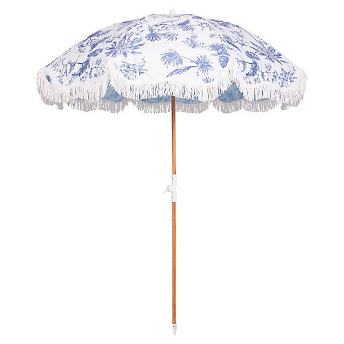 Holiday Beach Umbrella, Chinoiserie