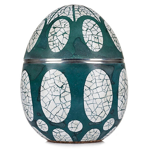 Avoova Egg Candle, Acacia Plains