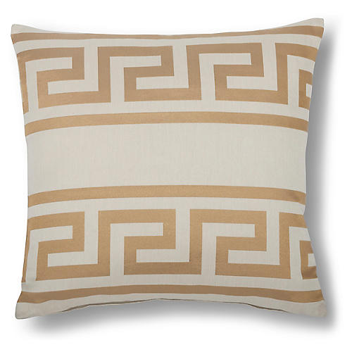 Tadeas 18x18 Pillow, Bronze