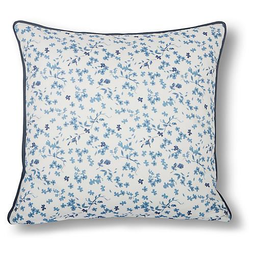 Gable 22x22 Pillow, Bluebell