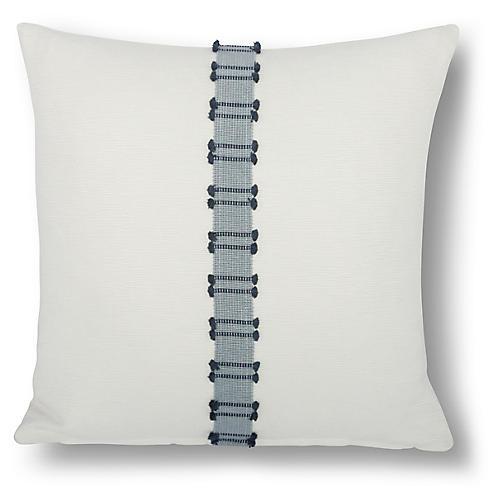 Midori 18x18 Pillow, Navy
