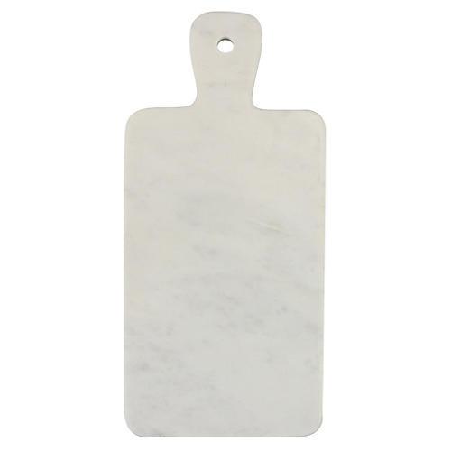 Marble Rectangular Mini Board, White