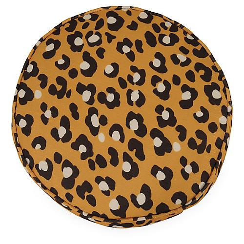 Namir 18x18 Disc Pillow, Leopard Spots