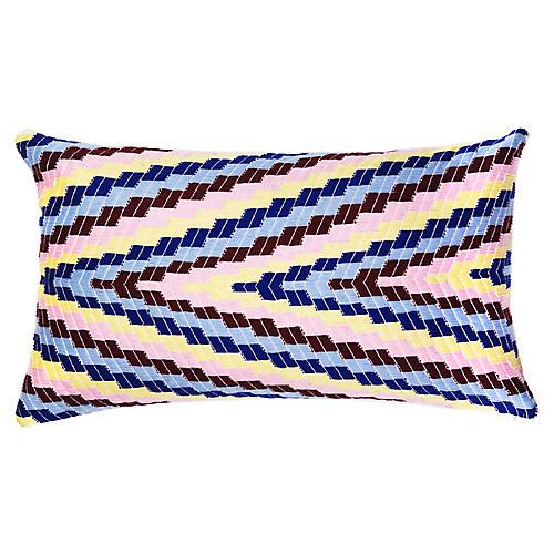 Almolonga 12x20 Lumbar Pillow, Pink/Multi