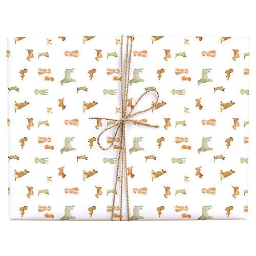 S/3 Dog Wash Gift Wrap