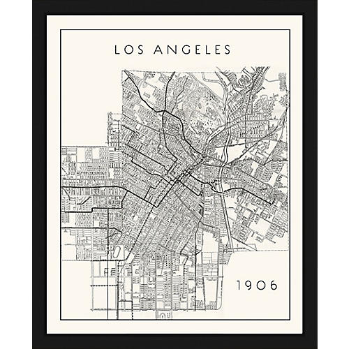 Historic Map of Los Angeles