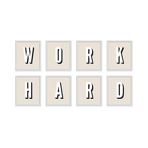 Pencil & Paper Co., Work Hard