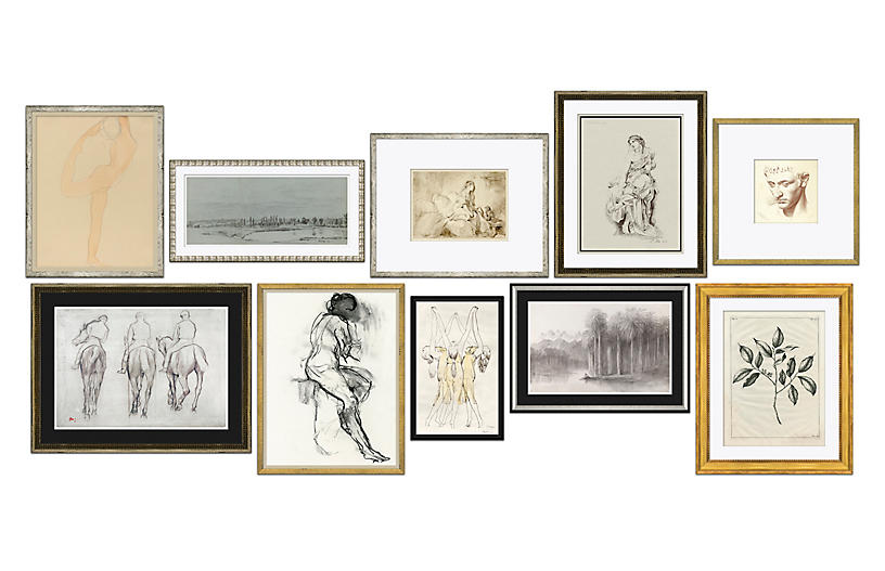 S/10, Drawings Gallery Wall