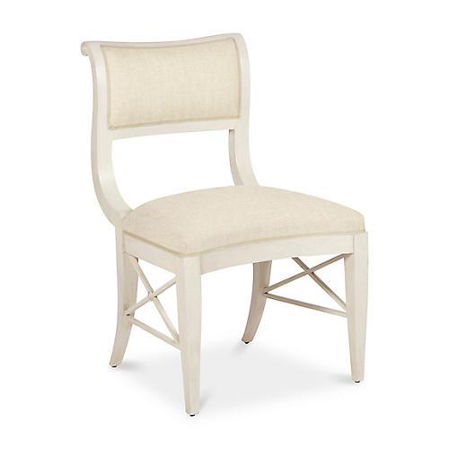 Ava Chair, Natural Linen