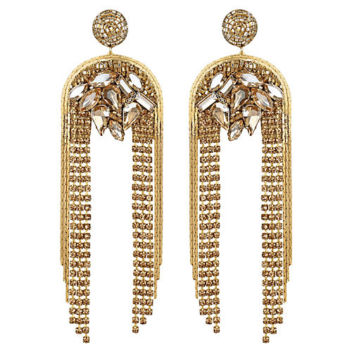 Kylee Earrings, Gold