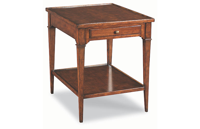 Angers Side Table, Cherry