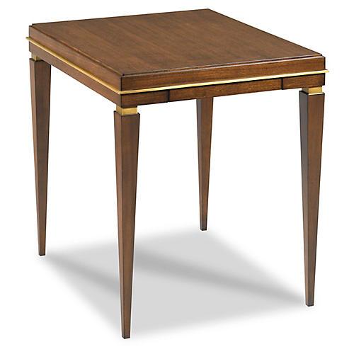 Huet Side Table, Walnut