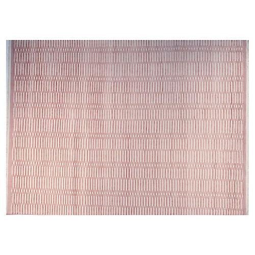 9'x12' Soho Hand-Knotted Rug, Pink