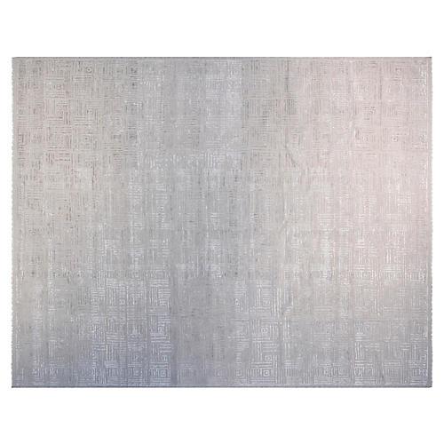 10'x14' Melanie Hand-Knotted Rug, Beige