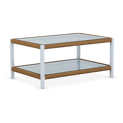 Harper Coffee Table, Matte White