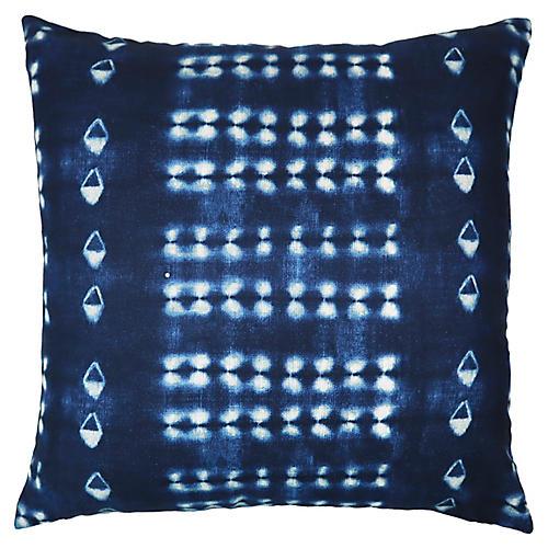 Skyler 22x22 Pillow, Indigo