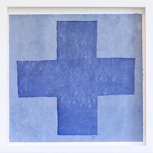 Dawn Wolfe, Medium Blue Intagilo Cross