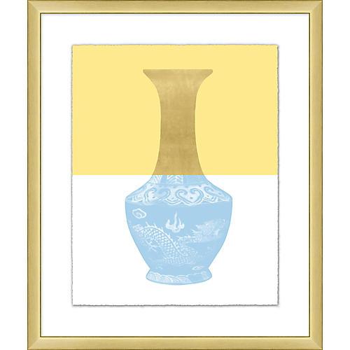 Golden Color Vase III