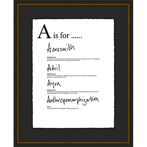 Jo Sampson, A is For